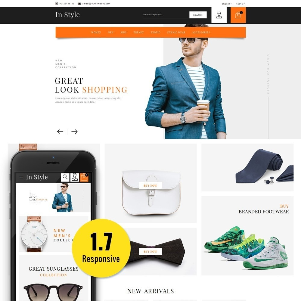 theme - Moda & Calzature - In-style Fashion Store - 1