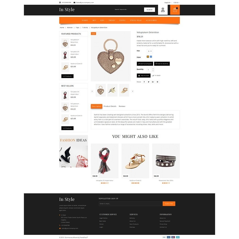 theme - Moda & Calzature - In-style Fashion Store - 5