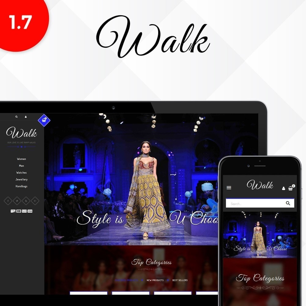 theme - Fashion & Shoes - Walk Store - 1