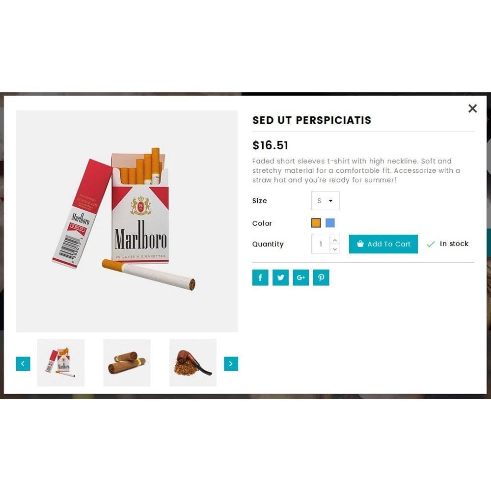 theme - Bebidas y Tabaco - Tobacco Store - 7