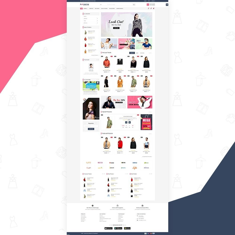 theme - Moda & Calzature - Awesome – Fashion Super Store v3 - 2