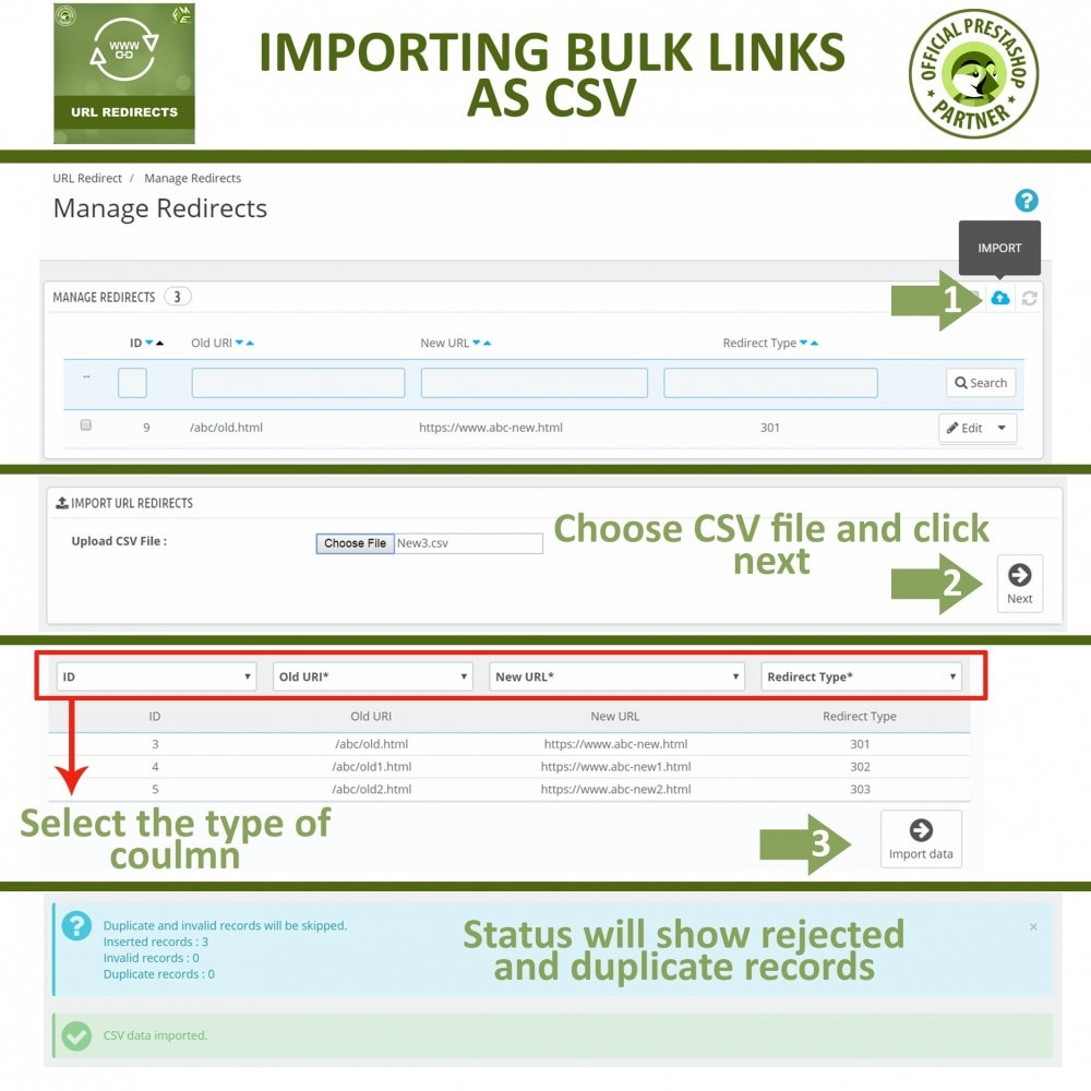 bundle - URL & Redirections - Pretty URLs + URL Redirects Manager -  Pack of 2 - 5