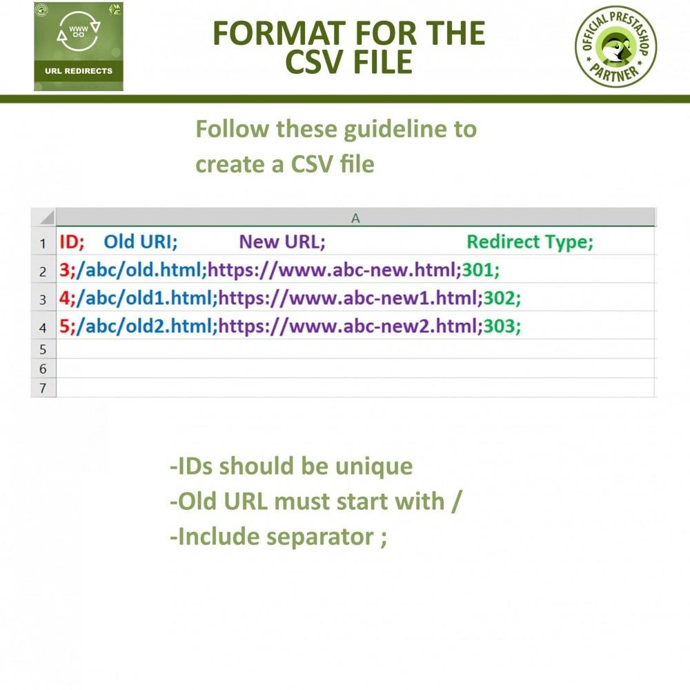 module - Управления адресами URL и перенаправлением - URL Redirects - 301, 302, 303 redirects & 404 URLs - 6