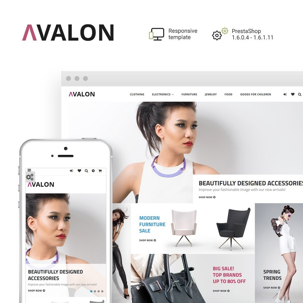 theme - Fashion & Shoes - Avalon - Wholesale Store - 1
