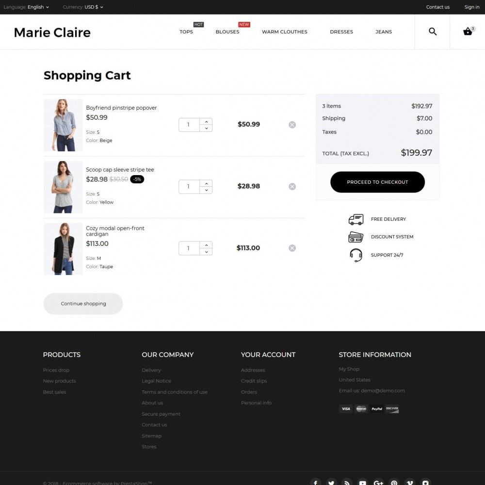 theme - Moda & Calzature - Marie Claire Fashion Store - 11
