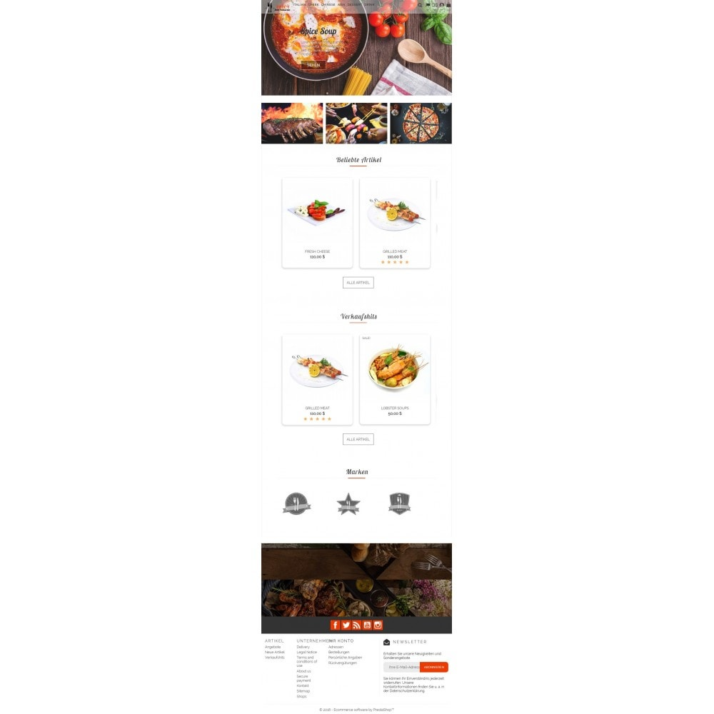 theme - Lebensmittel & Restaurants - Spicy Restaurant - 5