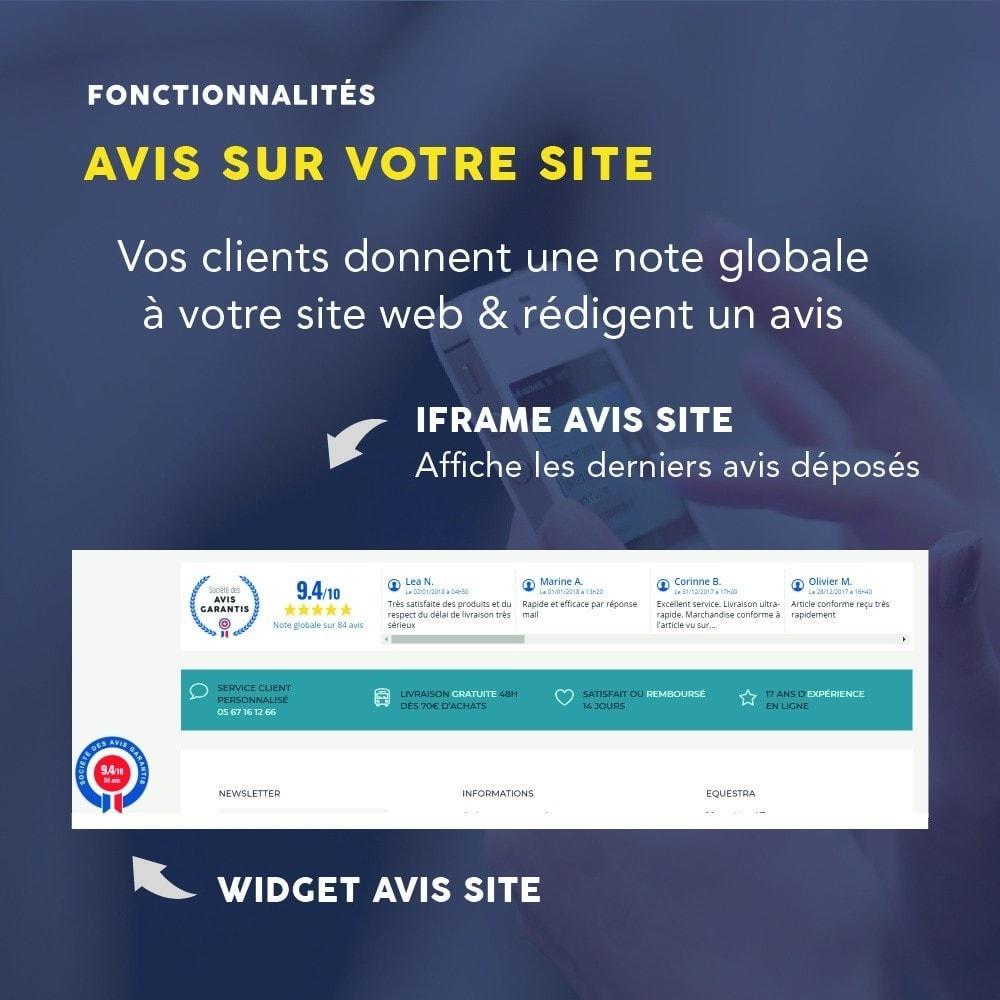 module - Avis clients - Avis clients - Société des Avis Garantis - 7