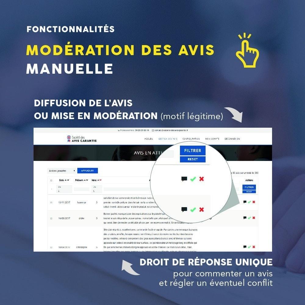 module - Avis clients - Avis clients - Société des Avis Garantis - 13