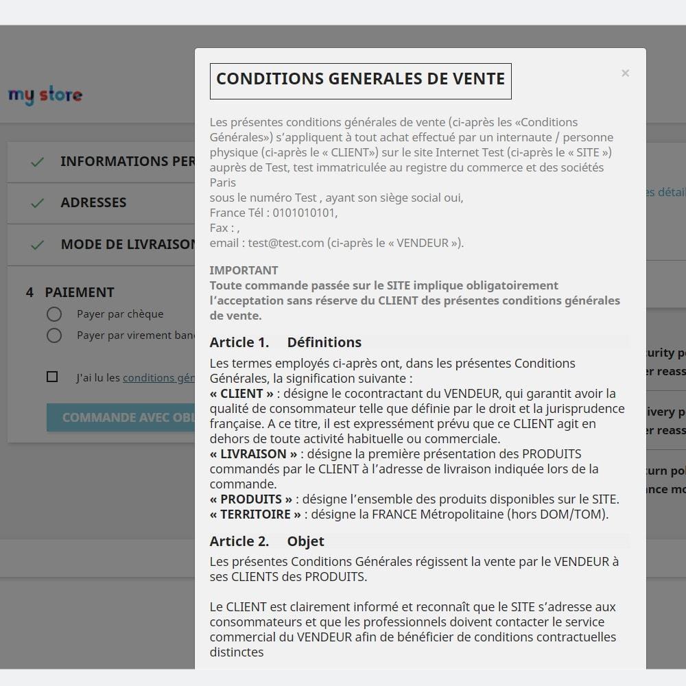 bundle - Les offres du moment - Faites des économies ! - CGV et Mentions légales - France & Espagne (Pack) - 4