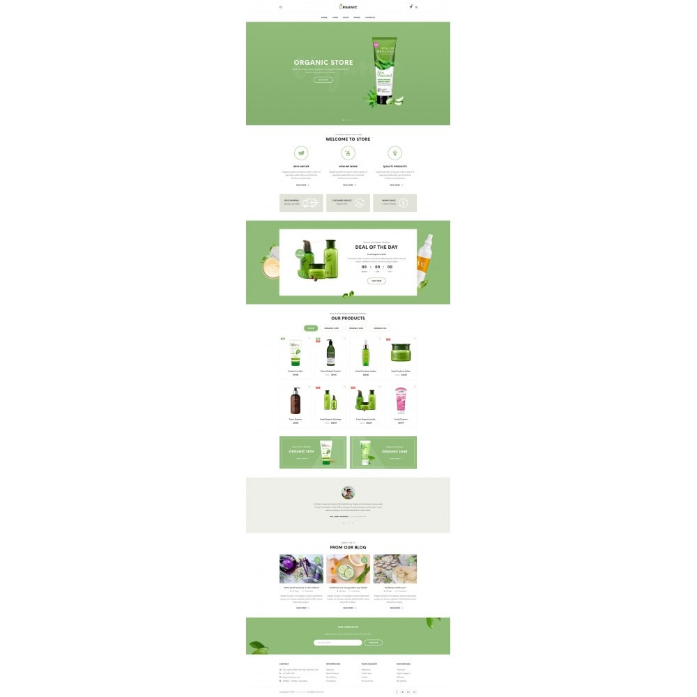 theme - Alimentation & Restauration - Organic Shop - 6
