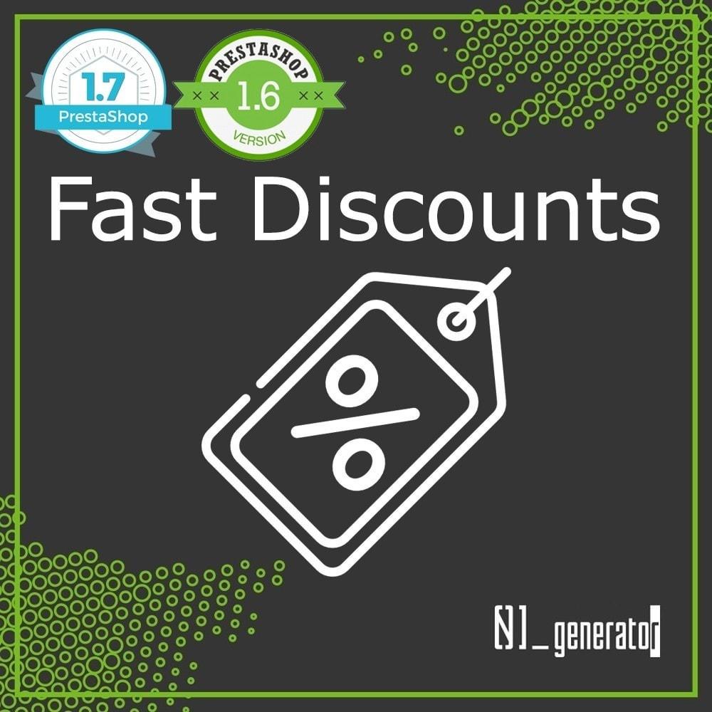 module - Quick Eingabe & Massendatenverwaltung - FastDiscounts - 1