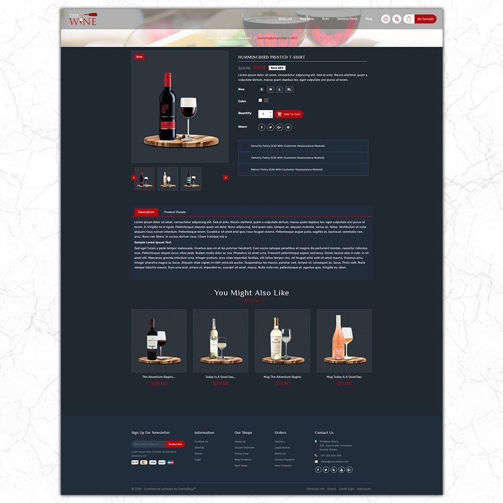 theme - Drink & Wine - TheWine - Wine Store - 5