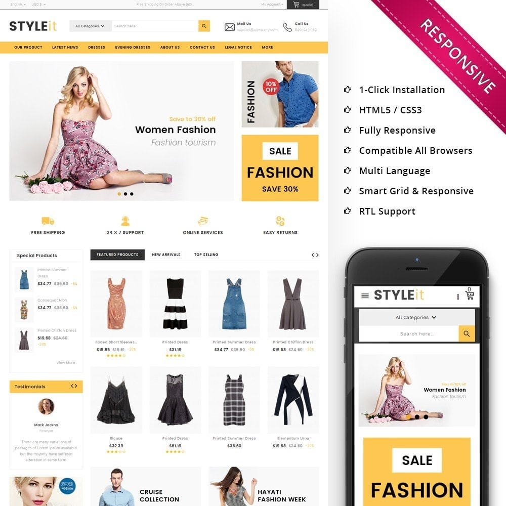 theme - Fashion & Shoes - Styleit Fashion Store - 1