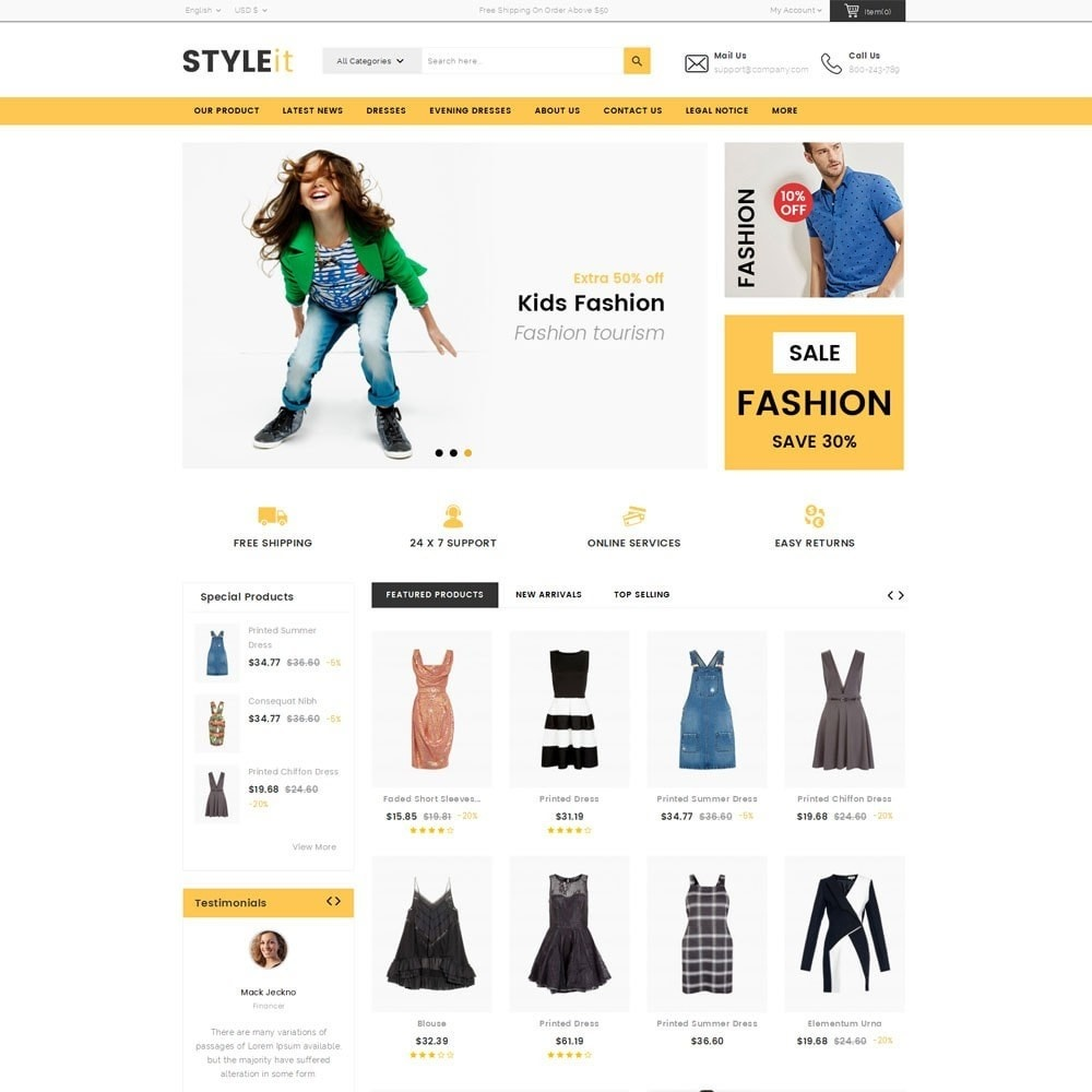 theme - Fashion & Shoes - Styleit Fashion Store - 2