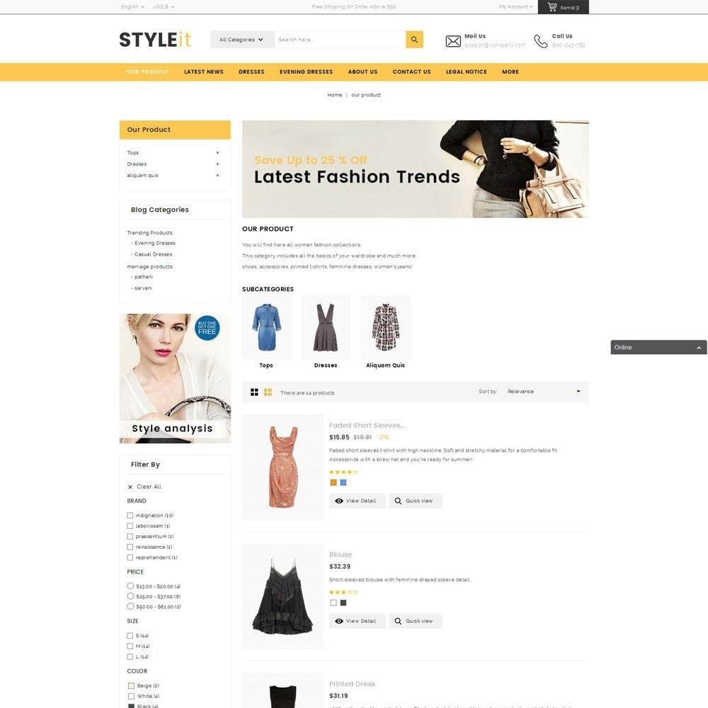 theme - Fashion & Shoes - Styleit Fashion Store - 5