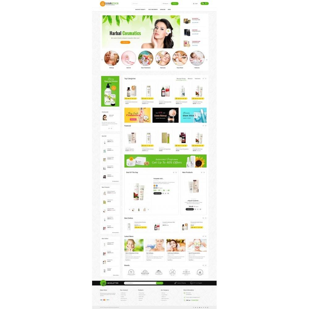 theme - Здоровье и красота - Mega Shoppe Bio Cosmetics - 2