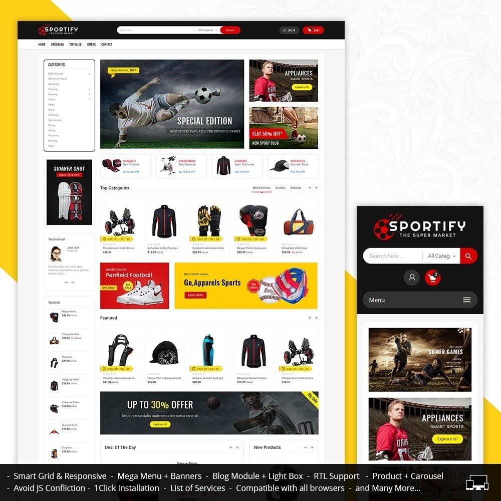 theme - Sport, Aktivitäten & Reise - Mega Shoppe Sports - 1