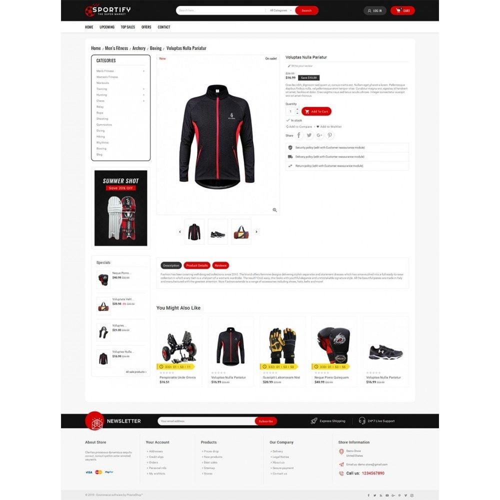 theme - Спорт и Путешествия - Mega Shoppe Sports - 5