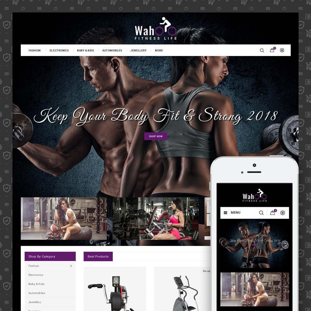 theme - Salud y Belleza - Fitness Life Store - 1