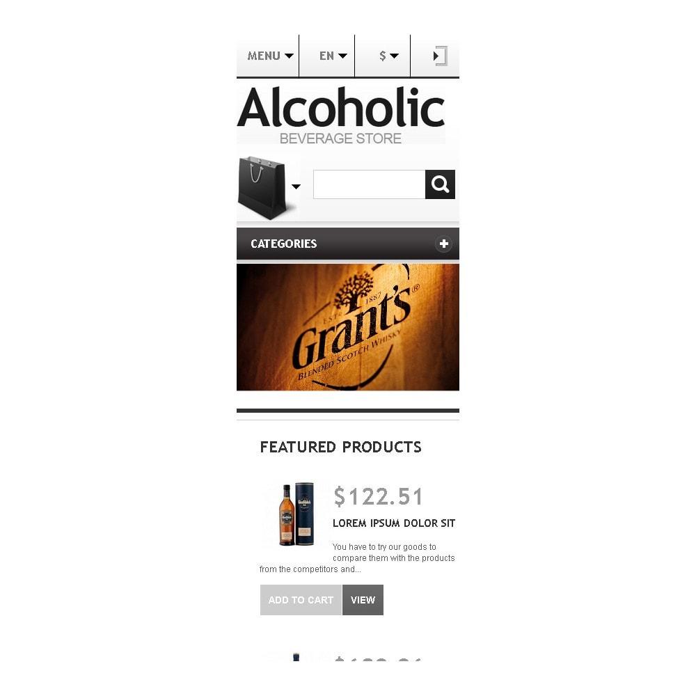 theme - Alimentation & Restauration - Alcoholic Beverage Store - 10