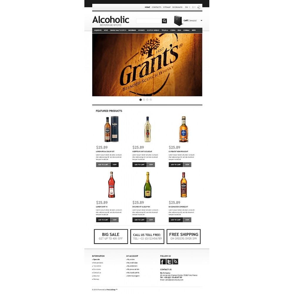 theme - Alimentation & Restauration - Alcoholic Beverage Store - 11