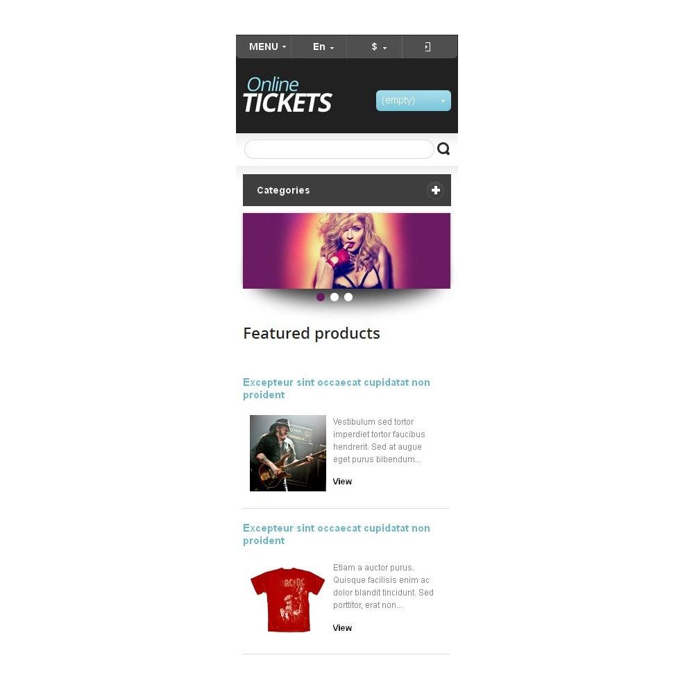 theme - Zabawki & Artykuły dziecięce - Tickets Store - 10