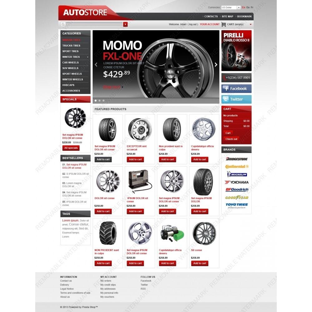 theme - Automotive & Cars - Auto Store - 2