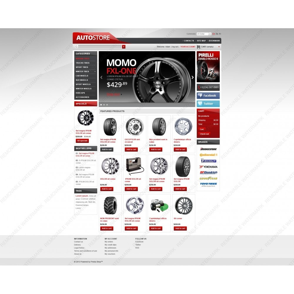 theme - Automotive & Cars - Auto Store - 5
