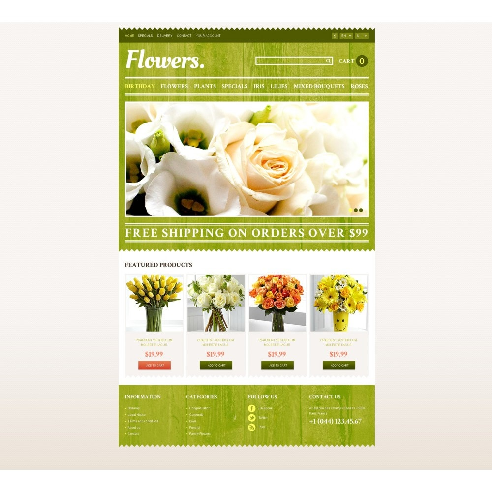 theme - Geschenke, Blumen & Feiern - Responsive Flowers Store - 4