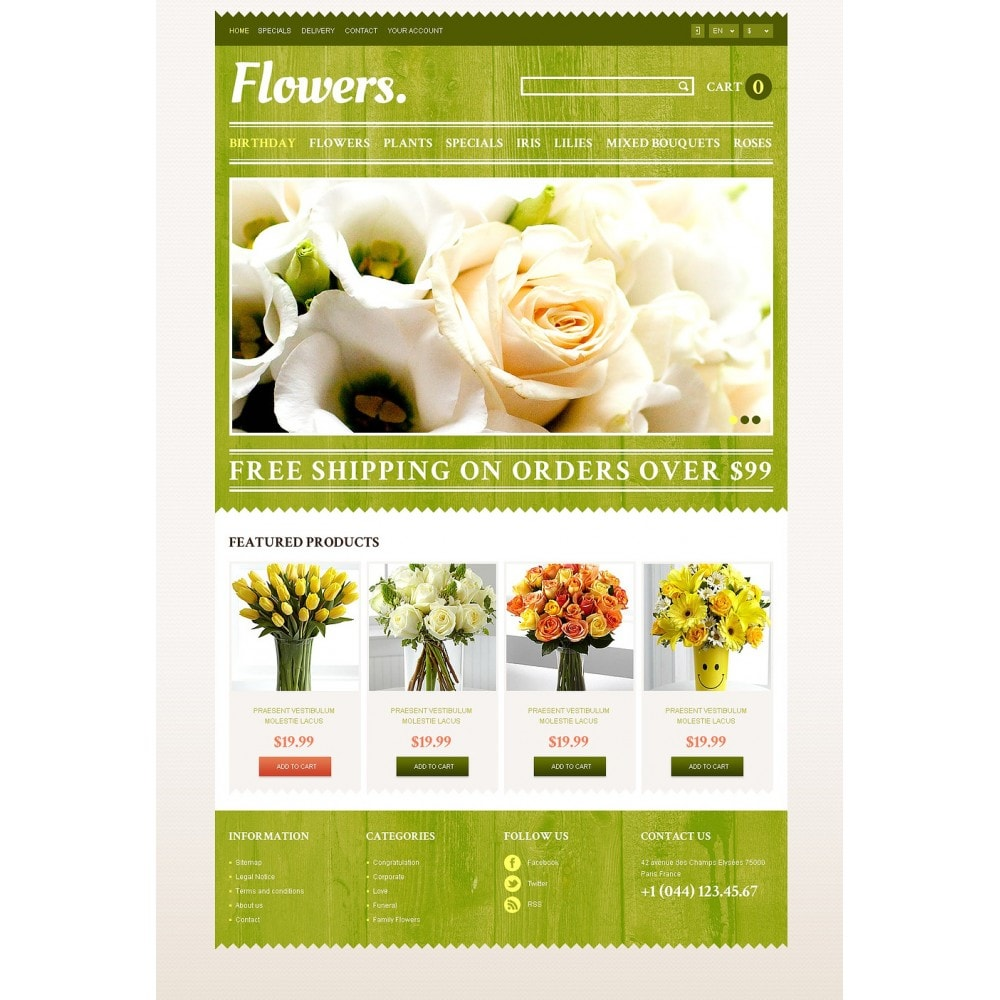 theme - Gifts, Flowers & Celebrations - Responsive Flowers Store - 5