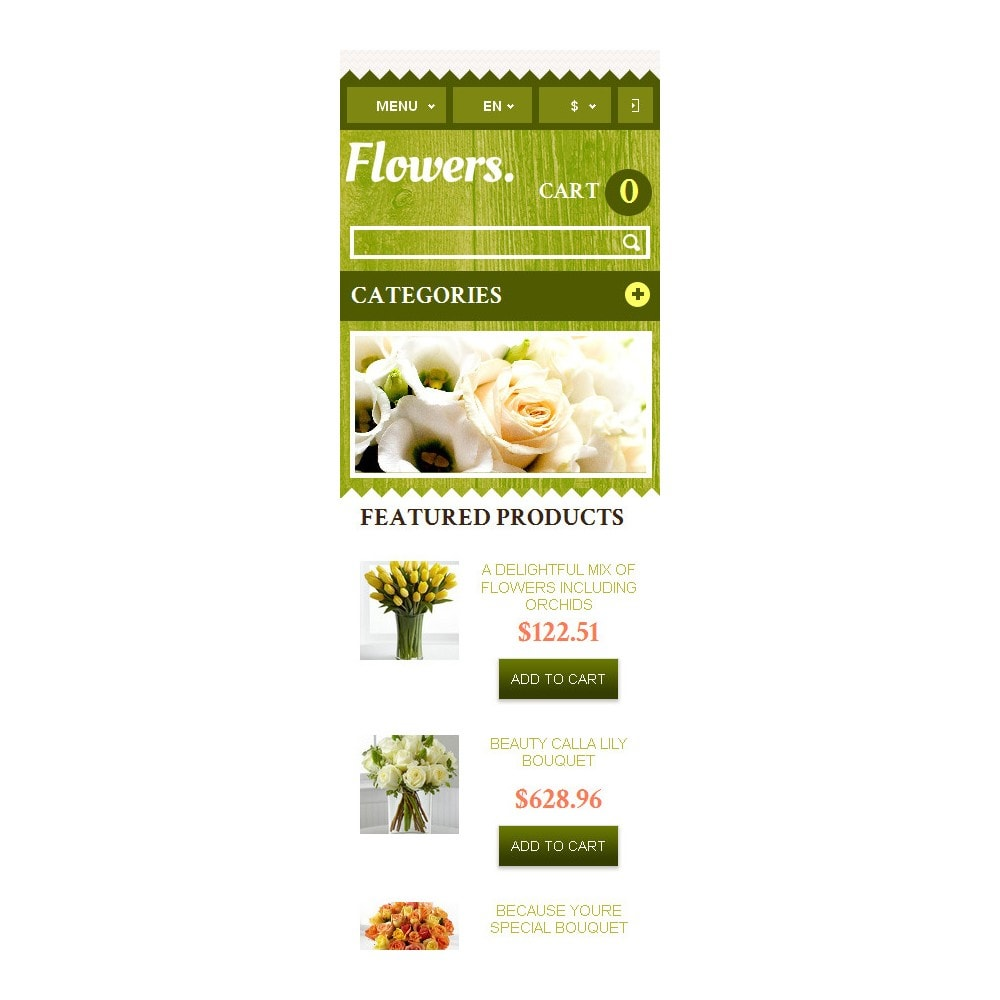 theme - Gifts, Flowers & Celebrations - Responsive Flowers Store - 10