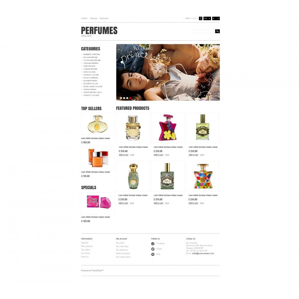 theme - Мода и обувь - Responsive Perfumes Store - 4