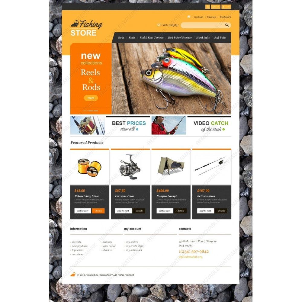 theme - Sport, Aktivitäten & Reise - Responsive Fishing Shop - 3