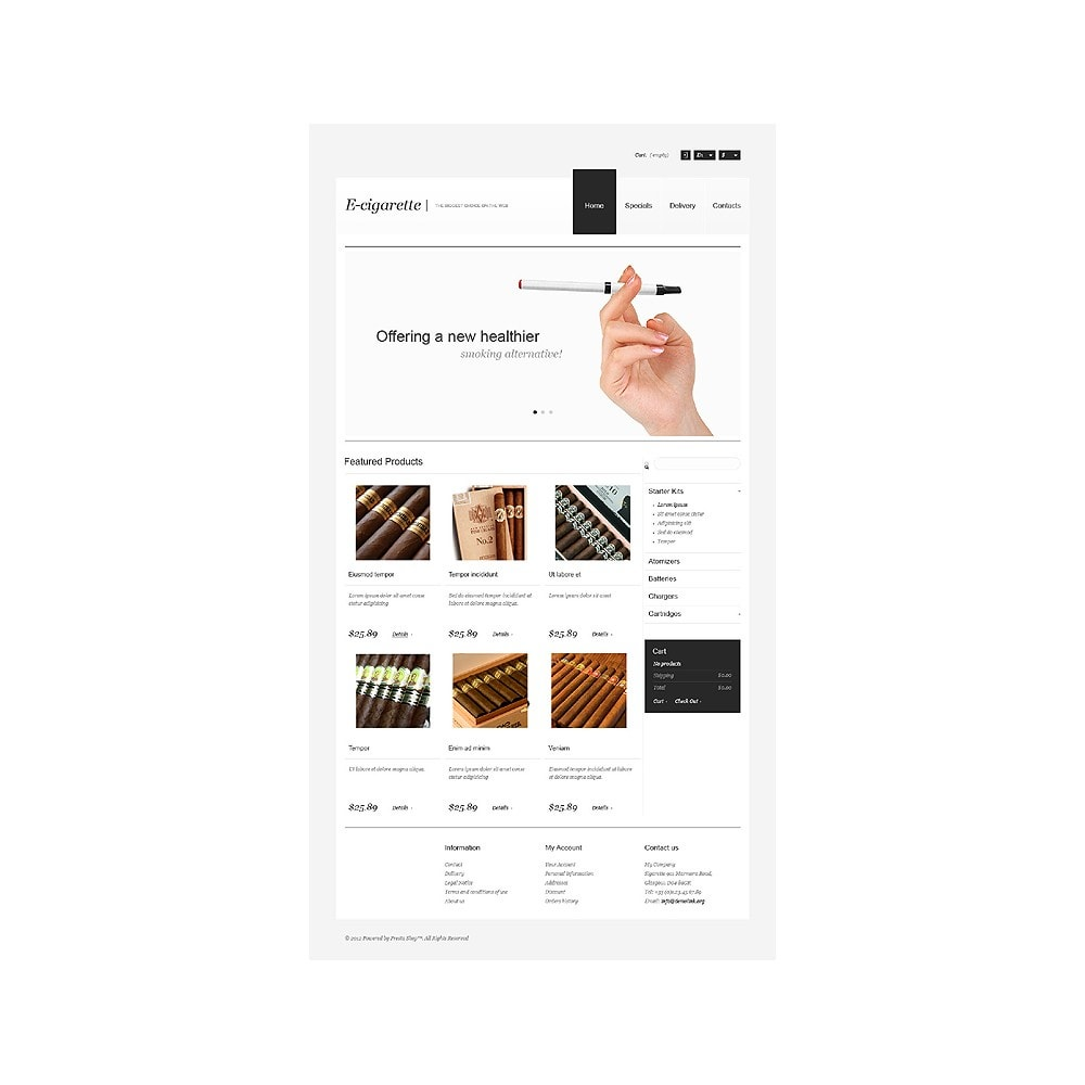 theme - Дом и сад - Electronic Cigarettes Store - 11