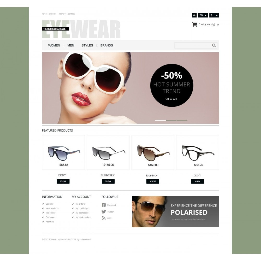 theme - Moda y Calzado - Responsive Eyewear Store - 4