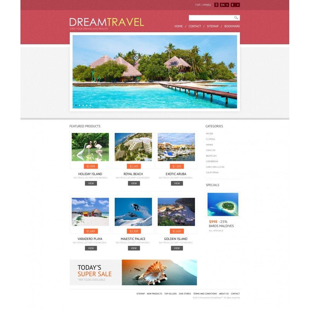 theme - Спорт и Путешествия - Dream Travel Store - 4