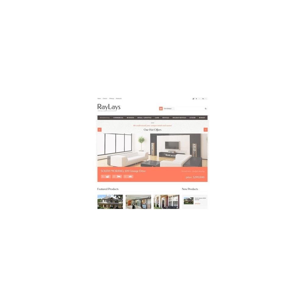 theme - Temas PrestaShop - Responsive Real Estate Store - 2