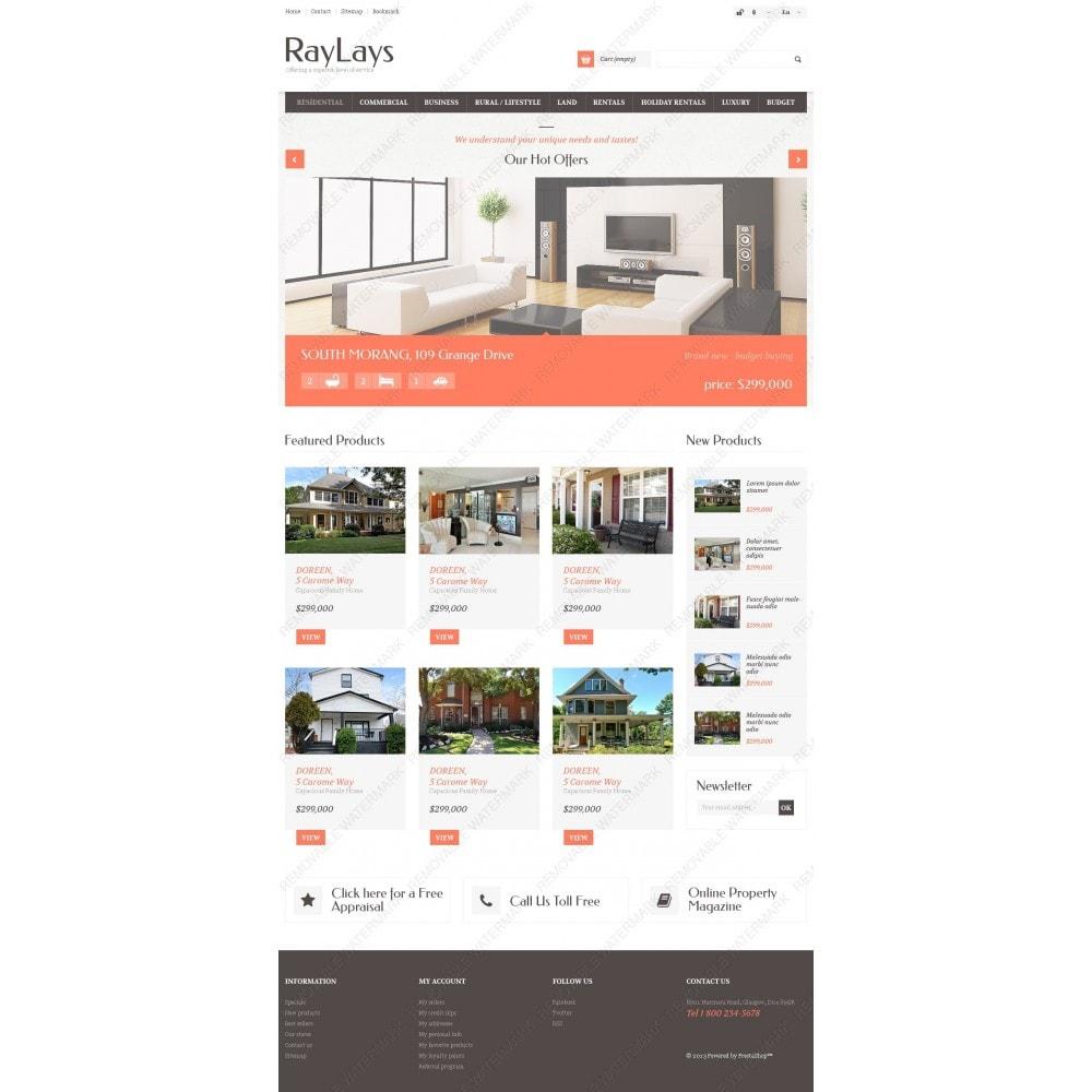 theme - Temas PrestaShop - Responsive Real Estate Store - 3
