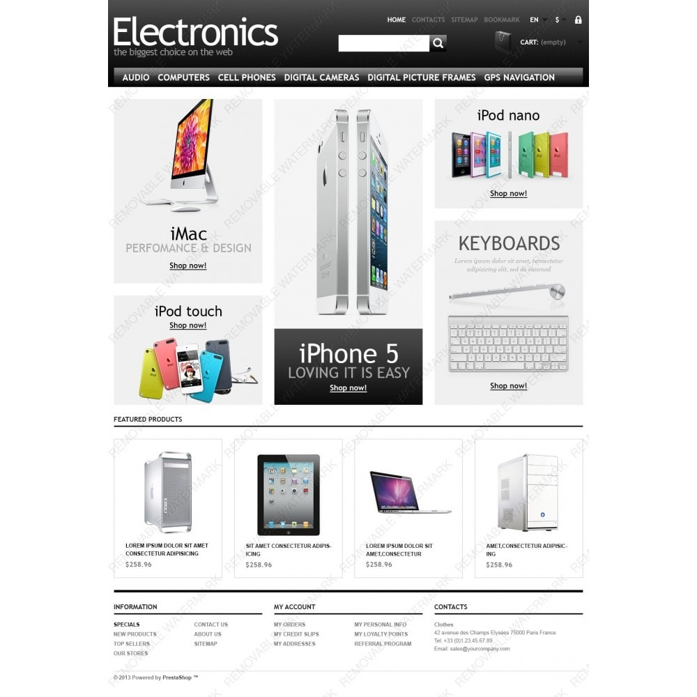 theme - Eletrônicos & High Tech - Powerful Electronics Store - 3