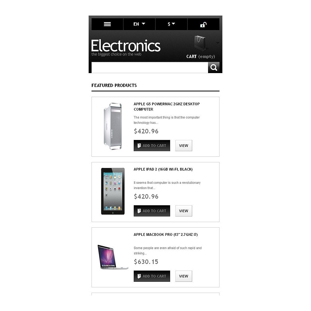 theme - Eletrônicos & High Tech - Powerful Electronics Store - 9