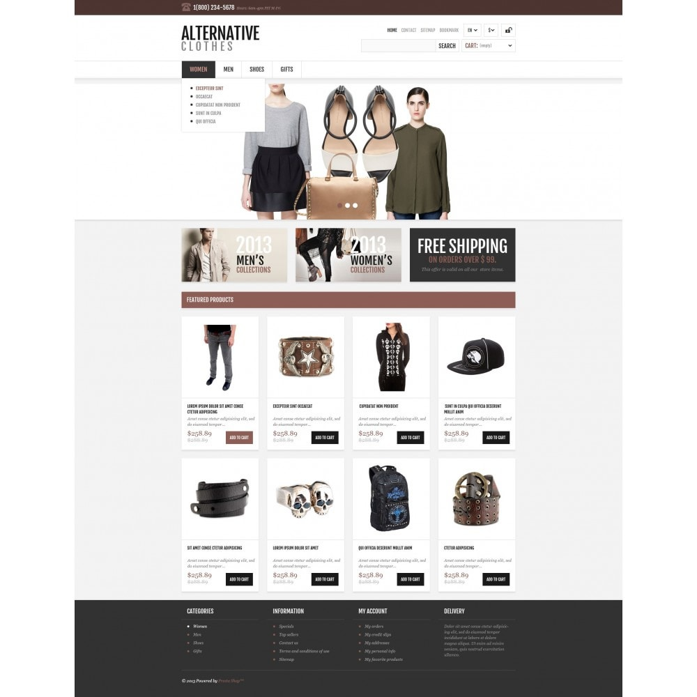 theme - Mode & Schoenen - Alternative Apparel Store - 5
