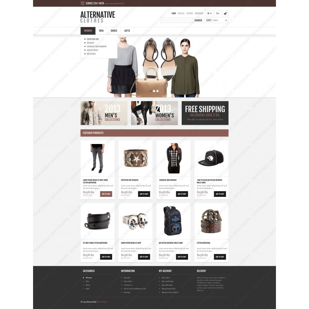 theme - Mode & Schoenen - Alternative Apparel Store - 6
