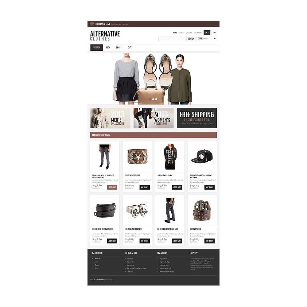 theme - Mode & Chaussures - Magasin adaptatif de vêtements alternatifs - 11