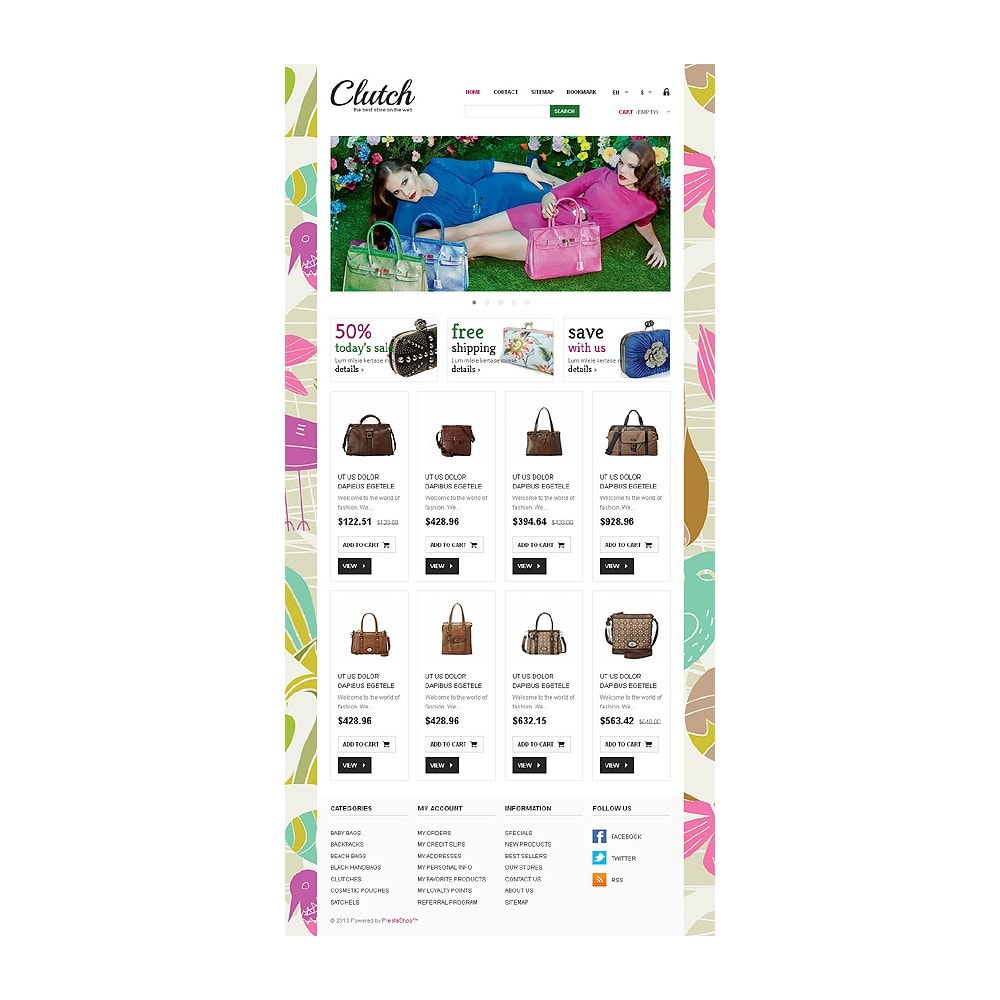theme - Fashion & Shoes - Responsive Bags Store - 8