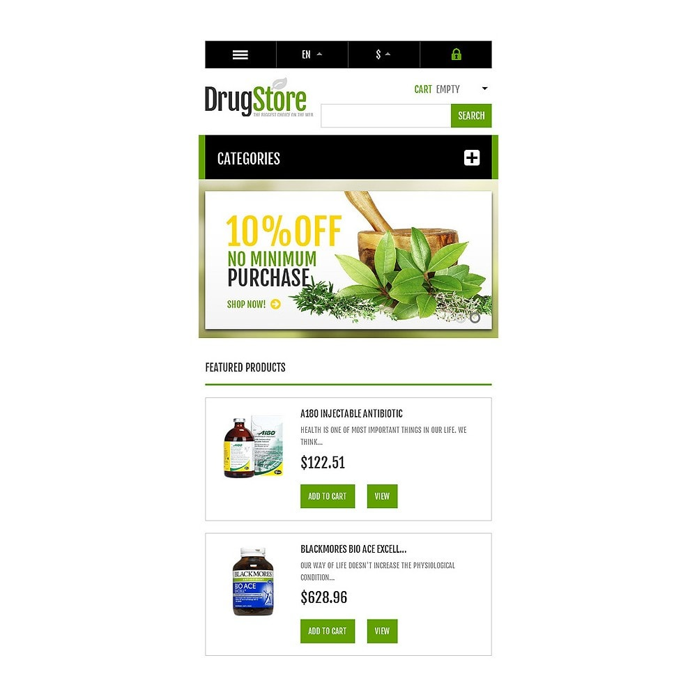 theme - Health & Beauty - Responsive Drug Store - 9