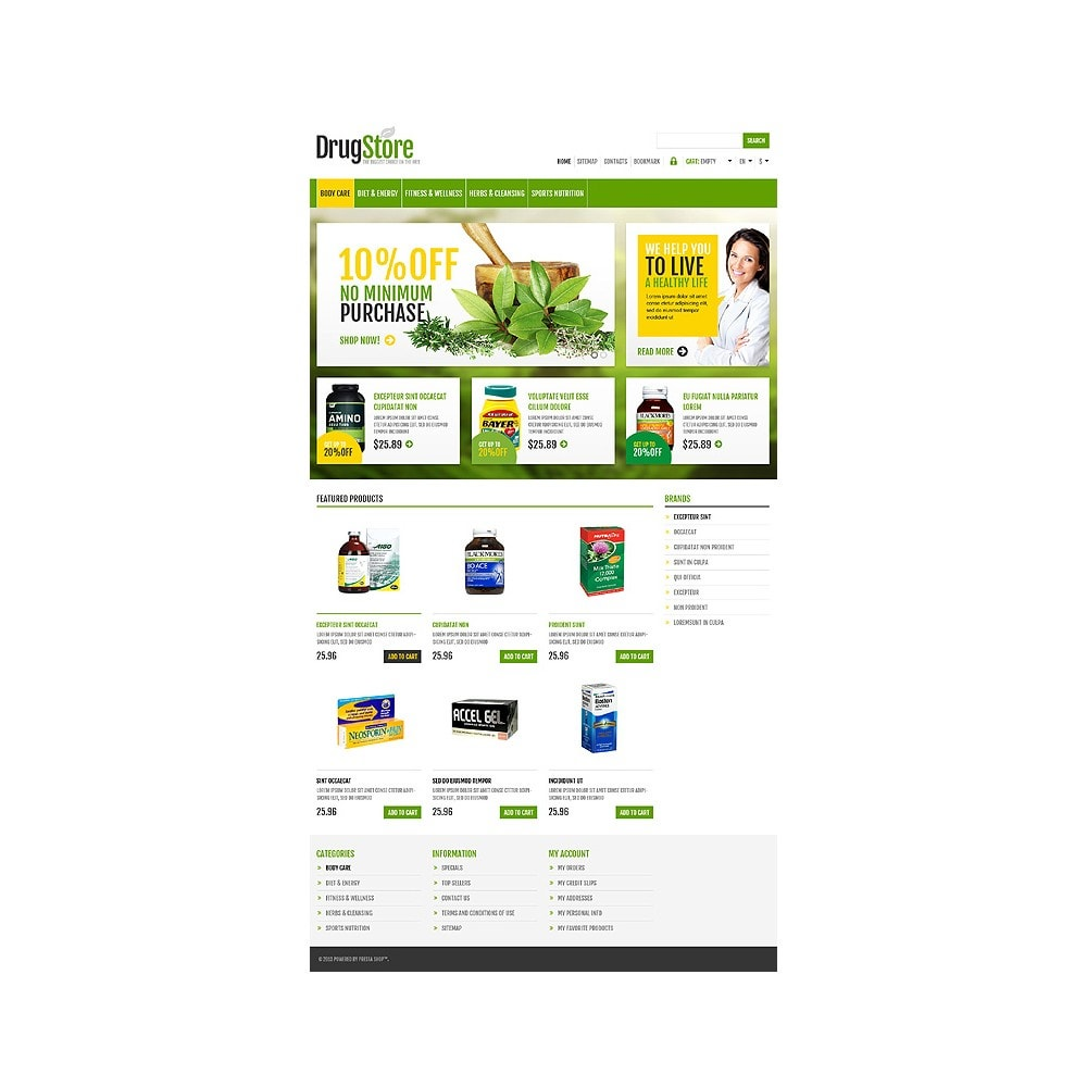 theme - Health & Beauty - Responsive Drug Store - 11