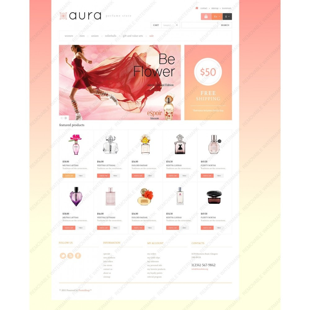 theme - Fashion & Shoes - Responsive Perfumes Store - 6