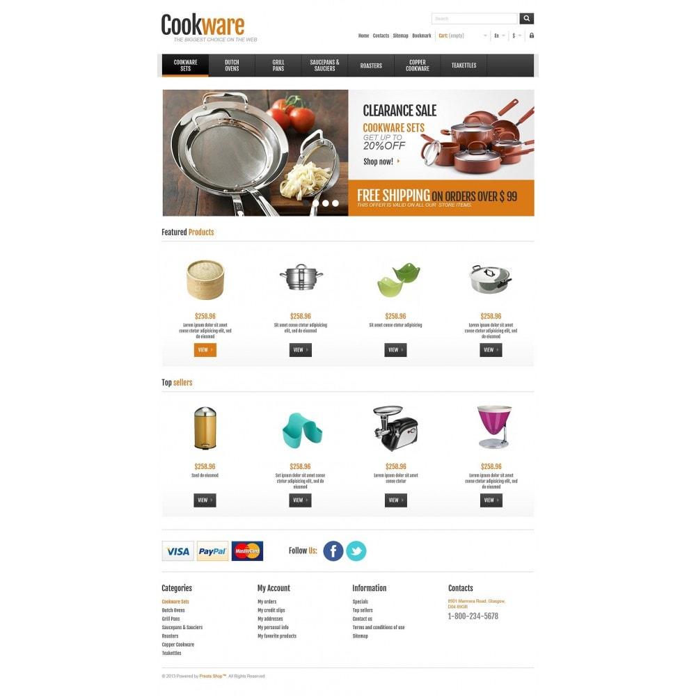 theme - Kunst & Kultur - Responsive Cookware Shop - 2