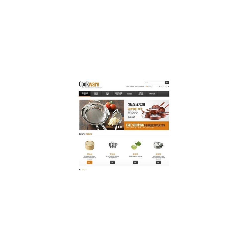 theme - Искусство и Культура - Responsive Cookware Shop - 3