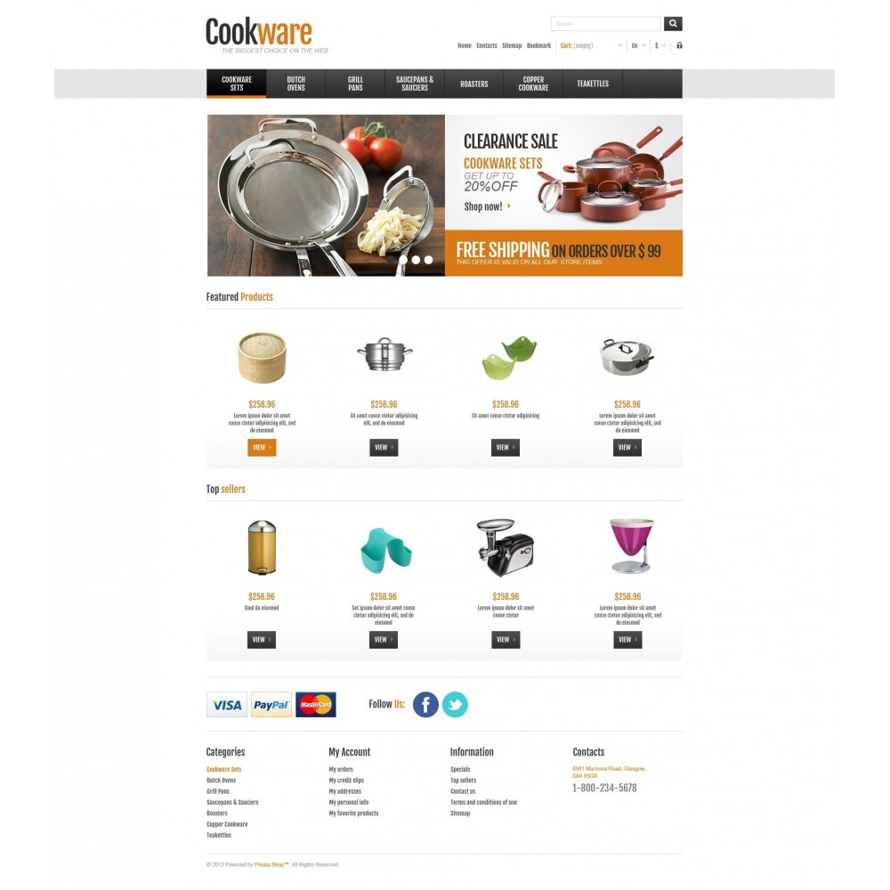 theme - Kunst & Kultur - Responsive Cookware Shop - 5